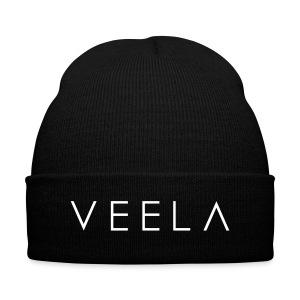 Veela Logo Cap - Knit Cap with Cuff Print