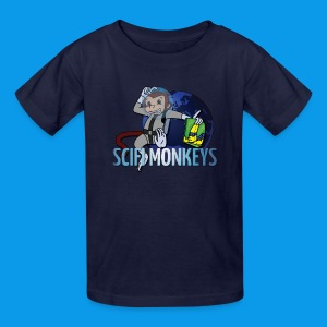 SciFi Monkeys Kids Logo Tee - Kids' T-Shirt