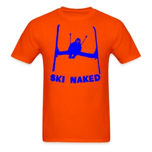 Ski Naked T-Shirt - Men's T-Shirt