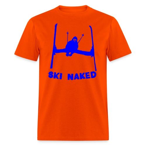 Ski Naked T-Shirt - Men's T-Shirt