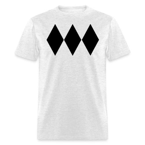Triple Black Diamond T-Shirt - Men's T-Shirt