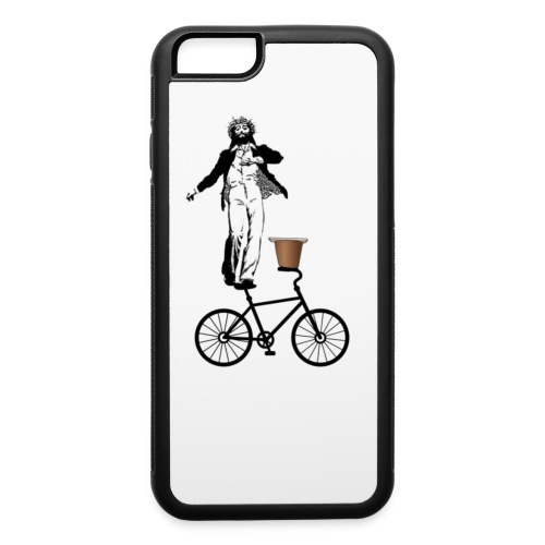 Jesus H, Tap-dancing Christ On A Bike With A Side Of Pudding - iPhone 6/6s Rubber Case