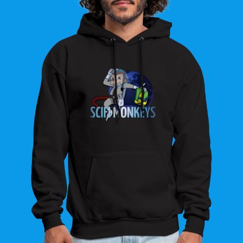 SciFi Monkeys Logo Hoodie - Men's Hoodie