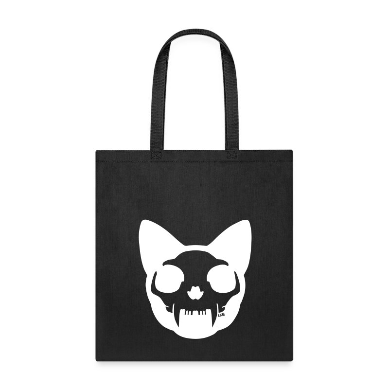 Cat Skull Tote Bag - Tote Bag