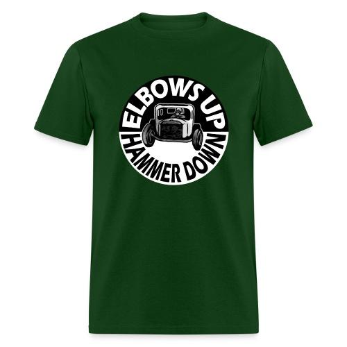 Elbows Up Hammer Down - Men's T-Shirt