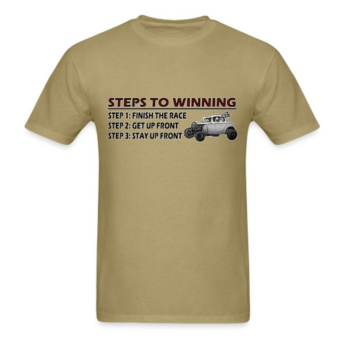 Steps to Winning - Men's T-Shirt