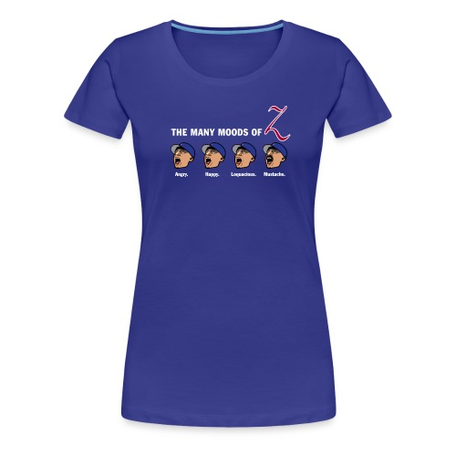 The Many Moods of Big Z - Women's Premium T-Shirt