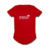 Princess Of The House - Short Sleeve Baby Bodysuit