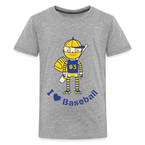 Sports Baseball Robot - Kids' Premium T-Shirt
