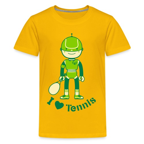 Sports Tennis Robot - Kids' Premium T-Shirt