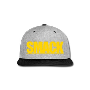 SMACK - Text Logo - Snap-back Baseball Cap