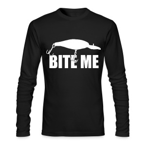 Bite Me - Men's Long Sleeve T-Shirt by Next Level
