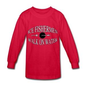 Ice fisherman - Kids' Long Sleeve T-Shirt