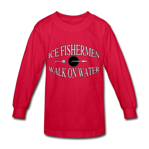 Ice fisherman - Kids' Long Sleeve T-Shirt