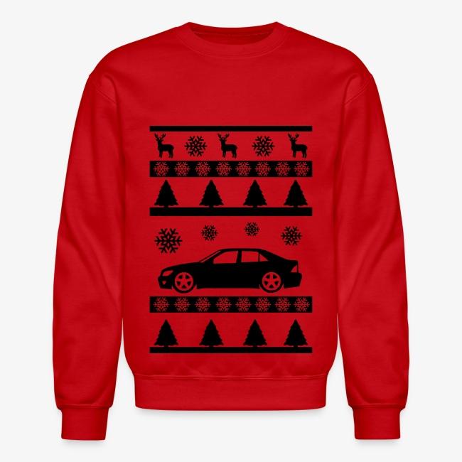 lexus is300 christmas sweater black - Black Christmas Sweater