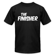T-Shirts ~ Men's T-Shirt by American Apparel ~ THE FINISHER