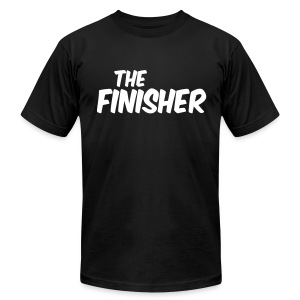 THE FINISHER - Men's T-Shirt by American Apparel