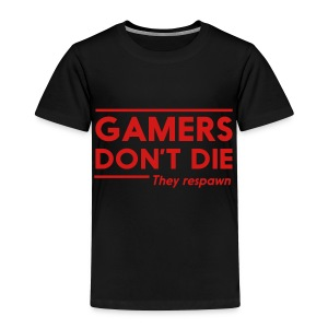 Dont die shirt in black and red - Toddler Premium T-Shirt