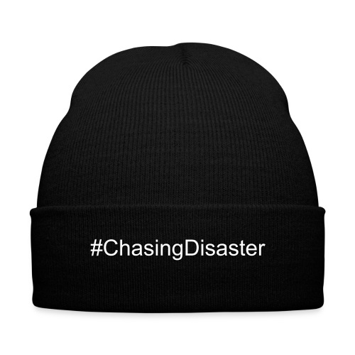 Disaster Beanie - Knit Cap with Cuff Print