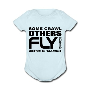 FLY baby one piece - Short Sleeve Baby Bodysuit