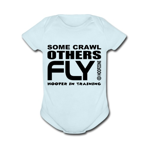 FLY baby one piece - Organic Short Sleeve Baby Bodysuit