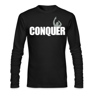 Long Sleeve T-Shirt Conquer - Men's Long Sleeve T-Shirt by Next Level