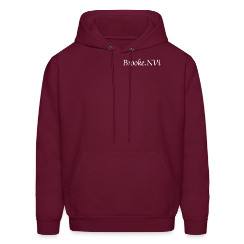 Men's Hoodie - If you would like this product in white. please contact me  via email (brookie1125@yahoo.com) so I can change it to your preference.