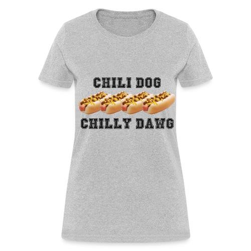 WOMEN'S CHILI DOG T-SHIRT - Women's T-Shirt