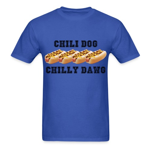 MEN'S CHILI DOG T-SHIRT - Men's T-Shirt