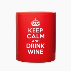 Keep calm and Drink Wine Accessories