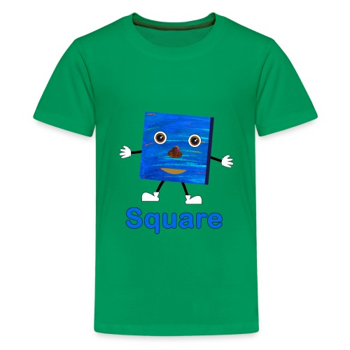 Shapes Square - Kids' Premium T-Shirt