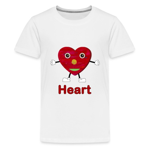 Shapes Heart - Kids' Premium T-Shirt