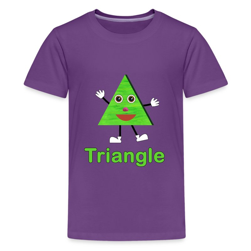 Shapes Triangle - Kids' Premium T-Shirt