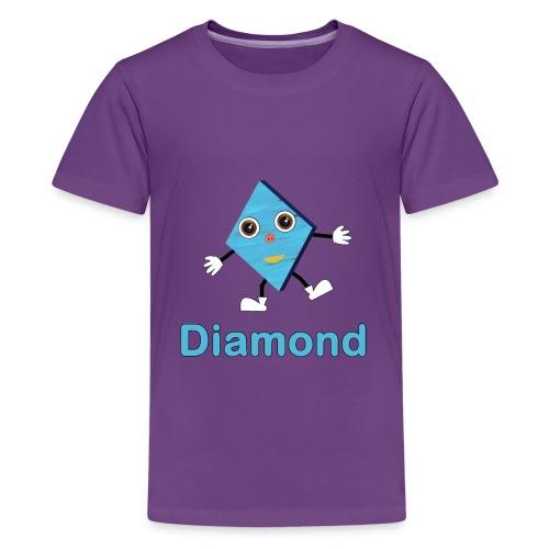Shapes Diamond - Kids' Premium T-Shirt