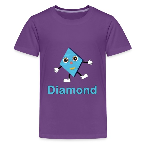 Shapes Diamond - Kids' Premium T-Shirt