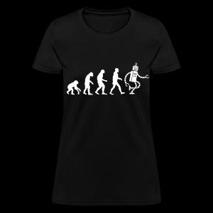 Evolution of Robot - Womens - Women's T-Shirt