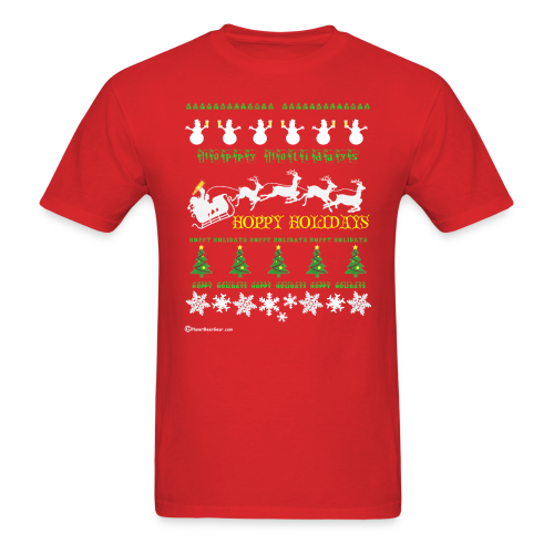 Ugly Xmas Beer Sweater Men's T-Shirt - Men's T-Shirt