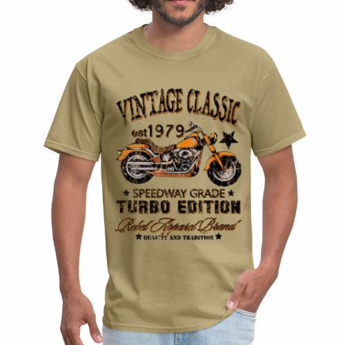 Vintage Classic Motorcycle T-Shirts - Men's T-Shirt