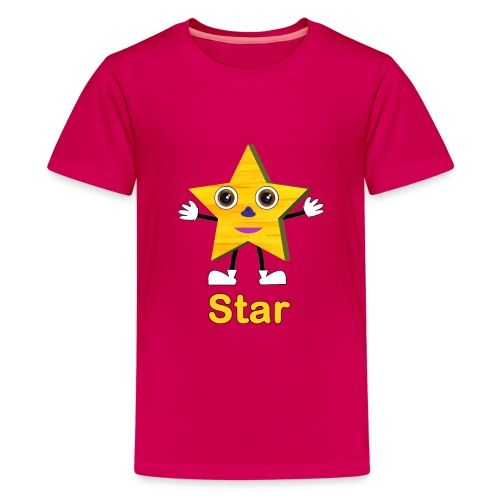 Shapes Star - Kids' Premium T-Shirt