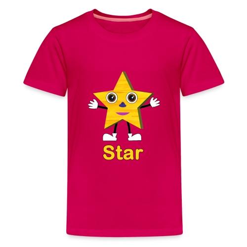 Shapes Star - Kids' Premium T-Shirt