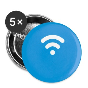 Set of 5 Cloak logo pins - Small Buttons
