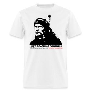 Mike Riley Likes Coaching Football - Men's T-Shirt