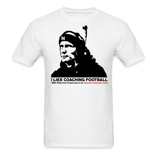Mike Riley Likes Coaching Football - Men's T-Shirt