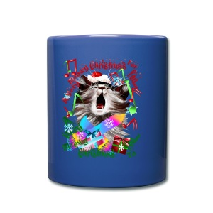 Christmas Carol Kitty - Full Color Mug