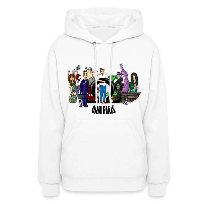Official Ohm Plays Women's Hoodie