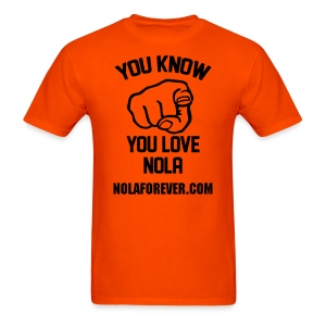NOLA Love - Men's T-Shirt