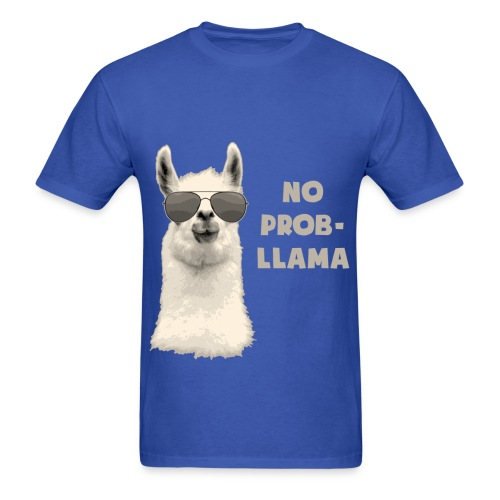 T-shirt Lama - Men's T-Shirt