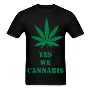 T-shirt Yes we cannabis - T-shirt pour hommes