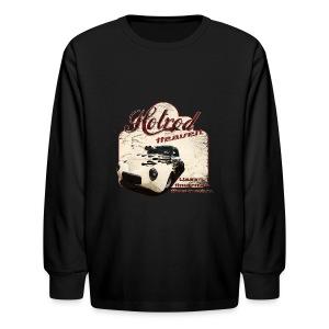 Kids Longsleeve T-shirt   Hotrod Heaven   Classic American Automotive - Kids' Long Sleeve T-Shirt