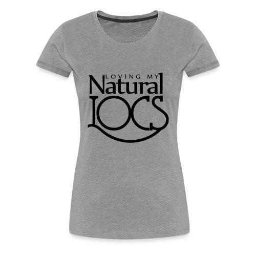 Natural Locs - Women's Premium T-Shirt